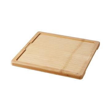 Revol - Basalt - taca pod talerz kwadratowy - wymiary: 29 x 29 cm; wymiary wcięcia: 25 x 25 cm