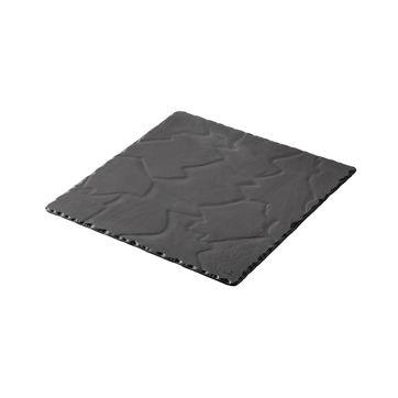 Revol - Basalt - talerz kwadratowy - wymiary: 20 x 20 cm