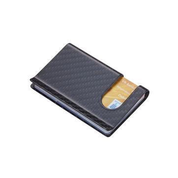 Troika - Carbon Case - etui na karty kredytowe - wymiary: 9 x 5,5 cm