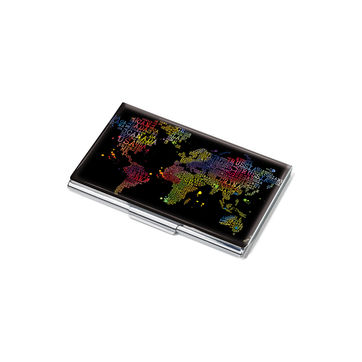 Troika - Colourful World - wizytownik - wymiary: 9,5 x 6 cm