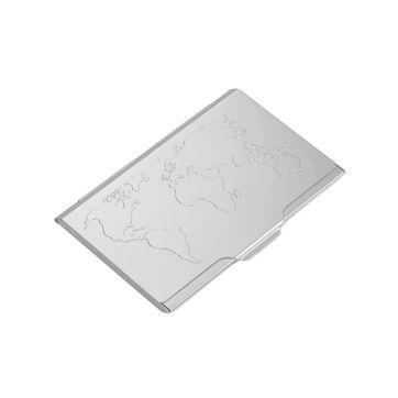 Troika - Global Contacts - wizytownik - wymiary: 9,5 x 6,5 cm