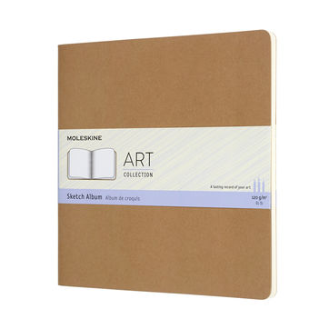 Moleskine - Sktech Album - szkicownik kwadratowy - 88 stron; wymiary: 19 x 19 cm