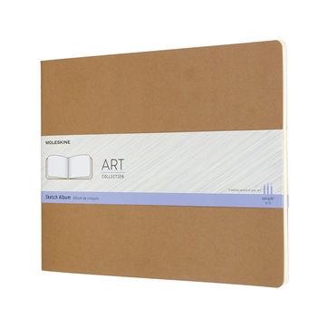 Moleskine - Sktech Album - blok do szkicowania - 88 stron; wymiary: 27,9 x 21,6 cm
