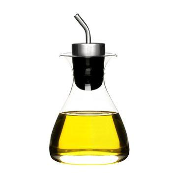 Sagaform - Herbs & Spices - butelka z dozownikiem na oliwę lub ocet - pojemność: 0,35 l