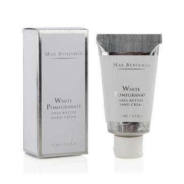 Max Benjamin - White Pomegranate - krem do rąk z masłem shea - pojemność: 75 ml