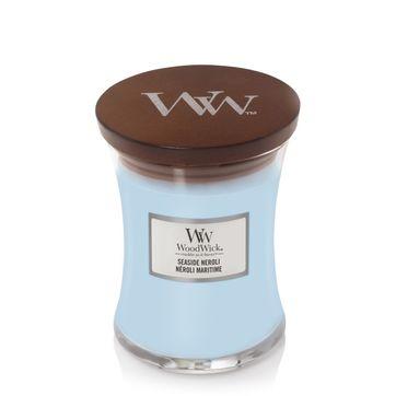 WoodWick - Seaside Neroli - świeca zapachowa - olejek neroli - czas palenia: do 65 godzin