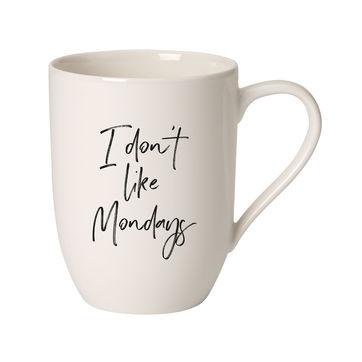 Villeroy & Boch - I don't like Mondays - kubek - pojemność: 0,34 l