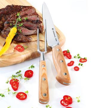 Zassenhaus - zestaw do krojenia mięsa - nóż i widelec