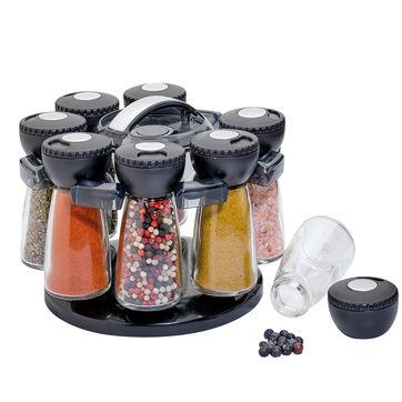 Küchenprofi - obrotowy stojak na przyprawy - 8 przypraw