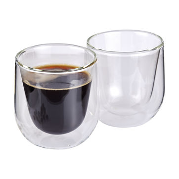 Cilio - Verona - 2 szklanki do kawy - pojemność: 0,15 l; podwójne ścianki