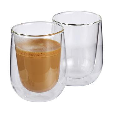Cilio - Verona - 2 szklanki do kawy z mlekiem - pojemność: 0,25 l; podwójne ścianki