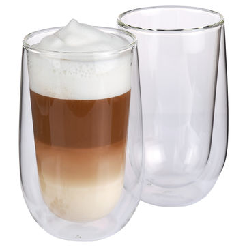 Cilio - Verona - 2 szklanki do latte macchiato - pojemność: 0,35 l; podwójne ścianki