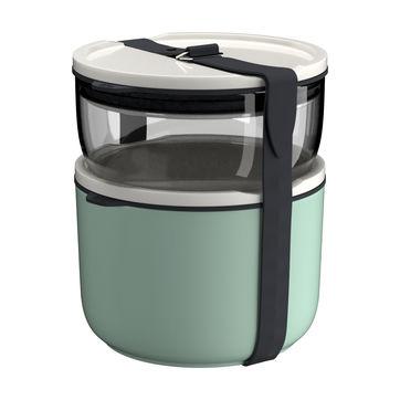 Villeroy & Boch - To Go & To Stay - zestaw 2 pojemników na żywność - pojemność: 0,44 l + 0,73 l