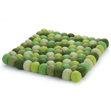 Cilio - Lana Verde - podkładka pod gorące naczynia - wymiary: 21 x 21 cm