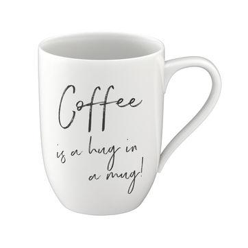 Villeroy & Boch - Coffee is a hug in a mug - kubek - pojemność: 0,34 l