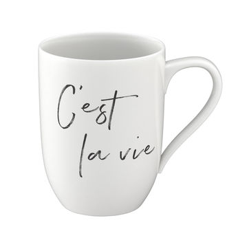 Villeroy & Boch - C'est la vie - kubek - pojemność: 0,34 l