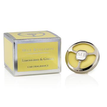 Max Benjamin - Lemongrass & Ginger - zapach do samochodu - cytrusy i imbir - czas działania: ok. 4 miesięcy