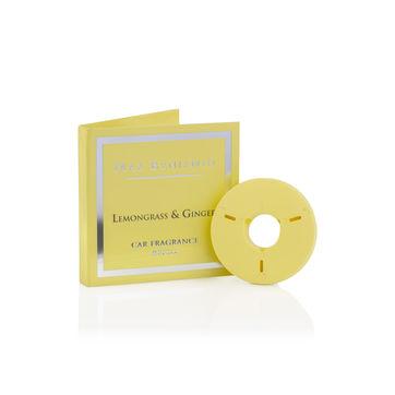 Max Benjamin - Lemongrass & Ginger - uzupełnienie zapachu do samochodu - cytrusy i imbir - czas działania: ok. 4 miesięcy