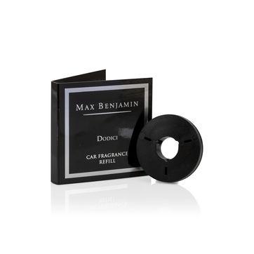 Max Benjamin - Dodici - uzupełnienie zapachu do samochodu - cytryna i majeranek - czas działania: ok. 4 miesięcy