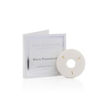 Max Benjamin - White Pomegranate - uzupełnienie zapachu do samochodu - świeży granat - czas działania: ok. 4 miesięcy