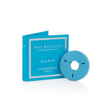 Max Benjamin - Blue Azure - uzupełnienie zapachu do samochodu - zioła i sól morska - czas działania: ok. 4 miesięcy