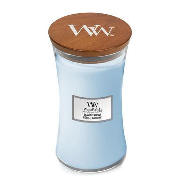 WoodWick - Seaside Neroli - świeca zapachowa - olejek neroli - czas palenia: do 120 godzin
