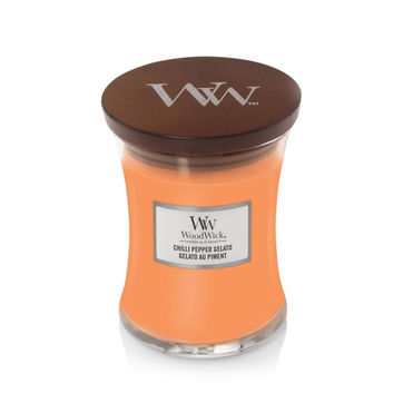 WoodWick - Chilli Pepper Gelato - świeca zapachowa - chili i cytrusy - czas palenia: do 65 godzin