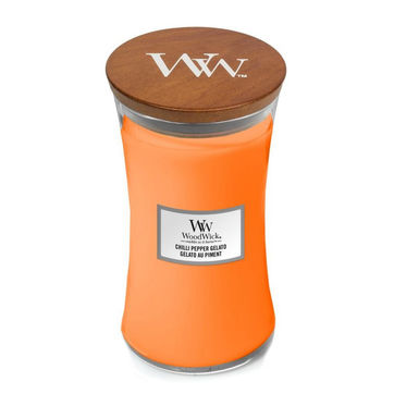 WoodWick - Chilli Pepper Gelato - świeca zapachowa - chili i cytrusy - czas palenia: do 120 godzin