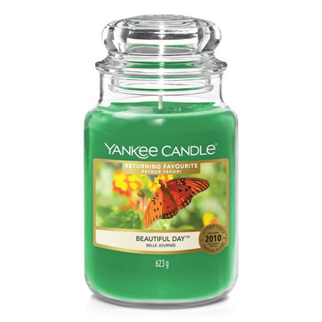 Yankee Candle - Beautiful Day - świeca zapachowa - kwiaty i owoce - czas palenia: do 150 godzin