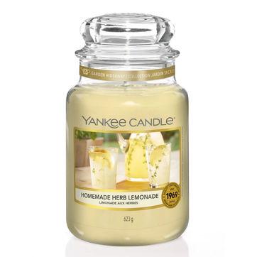Yankee Candle - Homemade Herb Lemonade - świeca zapachowa - lemoniada ziołowa - czas palenia: do 150 godzin