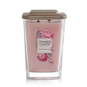 Yankee Candle - Salt Mist Peony - świeca zapachowa - nadmorskie kwiaty - czas palenia: do 80 godzin