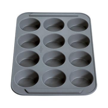 Küchenprofi - Bake Vario - forma na muffiny - wymiary: 37 x 25 x 3,5 cm