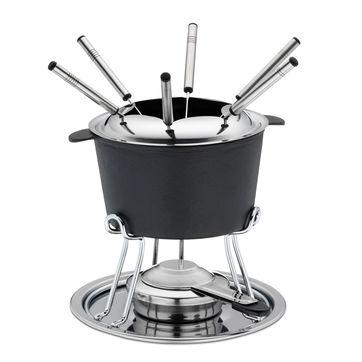 Kela - Comore - zestaw do fondue dla 6 osób - pojemność: 0,8 l