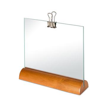 Alessi - ramka na zdjęcia - wymiary: 15,5 x 14 cm