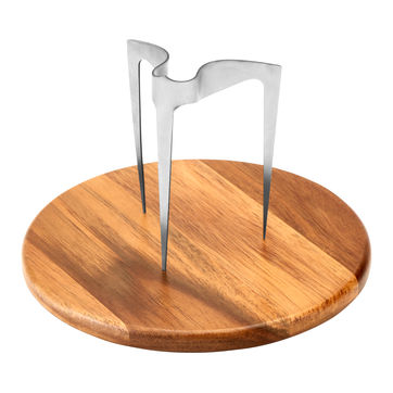 Lurch - King - zestaw do podawania hamburgerów - deska i szpikulec