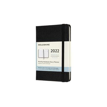 Moleskine - Classic - kalendarz miesięczny - 2022 - twarda oprawa