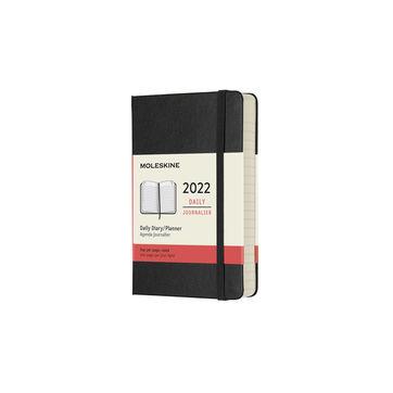 Moleskine - Classic - kalendarz dzienny - 2022 - wymiary: 9 x 14 cm; twarda oprawa