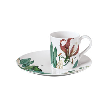 Villeroy & Boch - Avarua - filiżanka do kawy ze spodkiem - pojemność: 0,21 l