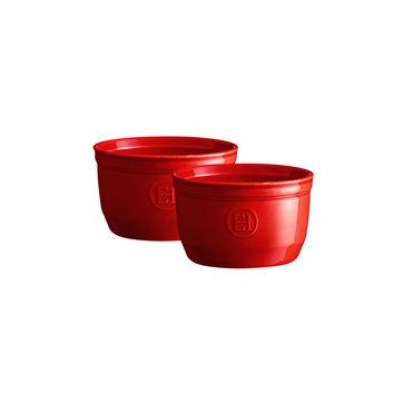 Emile Henry - 2 miseczki żaroodporne - pojemność: 0,25 l