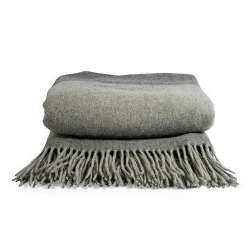 Sagaform - Ulle - pled z wełny merino - wymiary: 130 x 170 cm