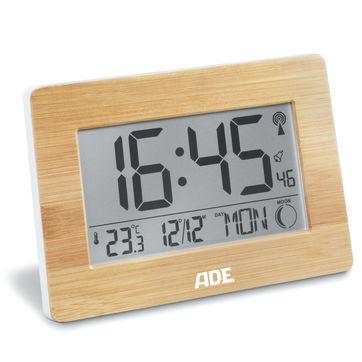 ADE - zegar z termometrem - wymiary: 23 x 16 cm