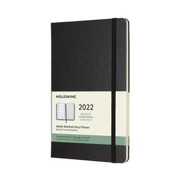 Moleskine - Classic - kalendarz tygodniowy - 2022 - twarda oprawa