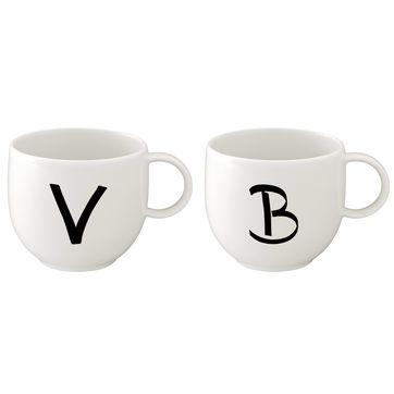 Villeroy & Boch - Letters - kubki z literami - pojemność: 0,4 l