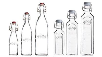 Kilner - szklane butelki na napoje i przetwory