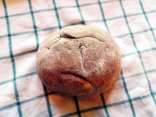 chleb bez zagniatania - formowanie