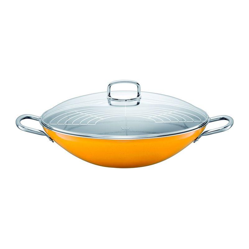 silit crazy yellow wok stalowo ceramiczny. Black Bedroom Furniture Sets. Home Design Ideas