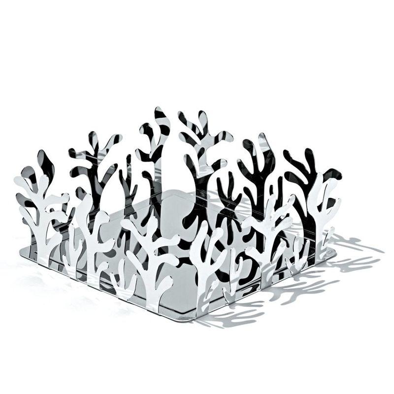 Alessi - Mediterraneo - serwetnik - wymiary: 20,5 x 20,5 cm