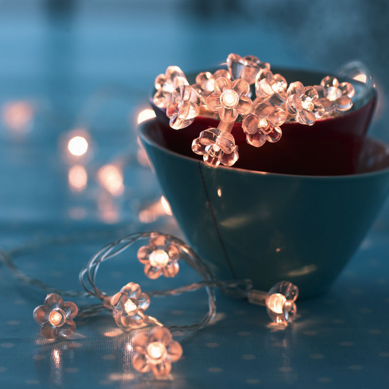 Sirius Annie Lampki Dekoracyjne Kwiatuszki Led