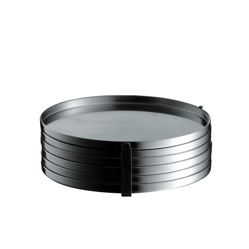 Stelton - Cylinda Line - podkładki pod szklanki - 6 sztuk