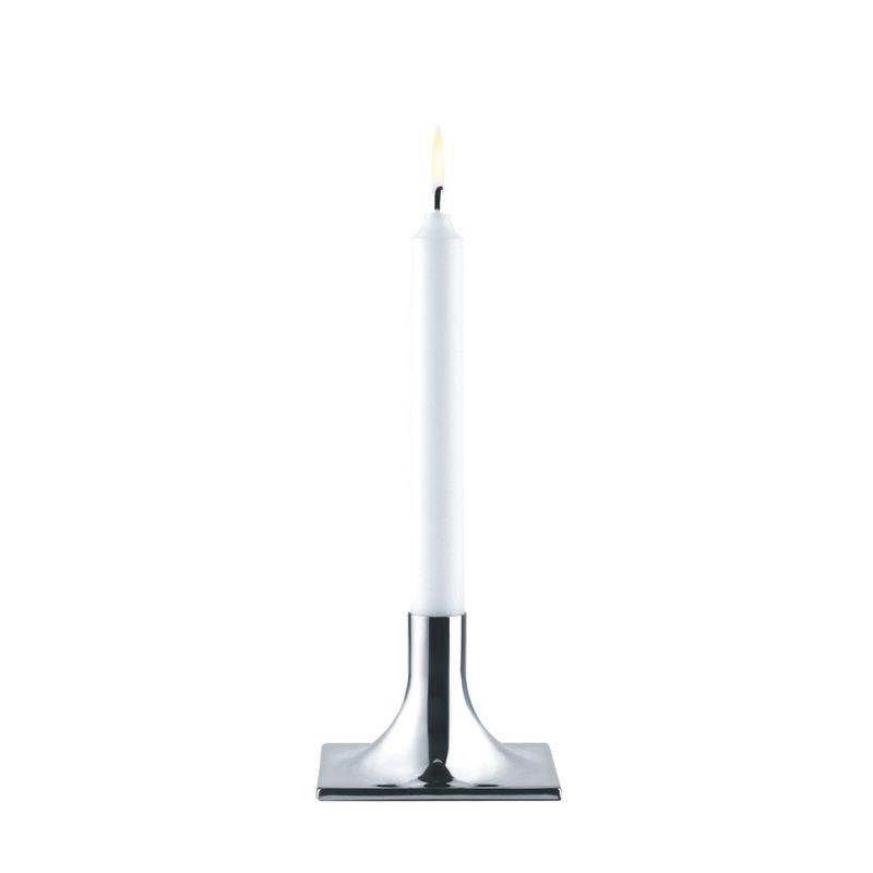Stelton - Classic - niski świecznik - wysokość: 7 cm
